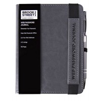 NEW RANGE! Web Password and Internet Address Notebook A6