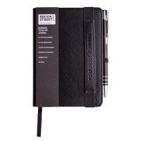 Business To Do List Notebook A6 - Black