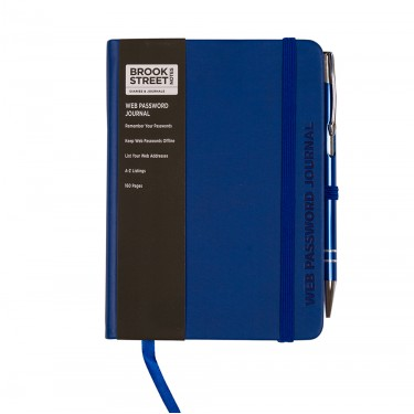 Web Password and Internet Address Notebook A6