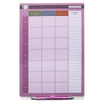 Weekly Menu Planner Notepad A4 - Magnetic