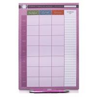 Weekly Menu Planner Notepad A4 - Magnetic