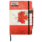 Canada Flag Notebook A5