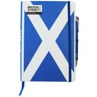 Scotland Flag Notebook A5