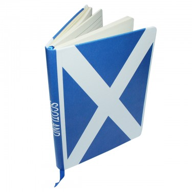 Scotland Flag Notebook A5
