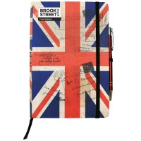 UK Flag Notebook A5