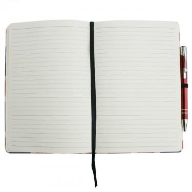 UK Flag Notebook A5