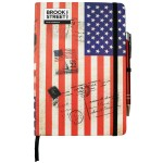 USA Flag Notebook A5